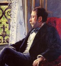 Caillebotte Gustave Portrait of a Man