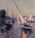 Caillebotte Gustave Regatta at Argenteuil