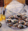 Caillebotte Gustave Still Life Oysters