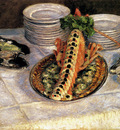 Caillebotte Gustave Still Life With Crayfish