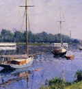 Caillebotte Gustave The Basin at Argenteuil