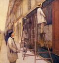 Caillebotte Gustave The House Painters