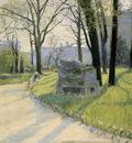 Caillebotte Gustave The Parc Monceau