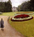 Caillebotte Gustave The Park on the Caillebotte Property at Yerres