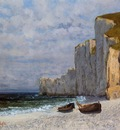 Courbet Gustave A Bay with Cliffs