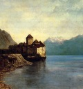 Courbet Gustave Chateau du Chillon