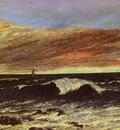 Courbet Gustave La Vague