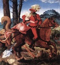 BALDUNG GRIEN Hans The Knight The Young Girl And Death