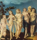 BALDUNG GRIEN Hans The Seven Ages Of Woman