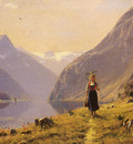 Dahl%20Hans%20 Norwegian %201849%20to%201937%20By%20The%20FJord%20O C%2049 5%20by%2067 3%20cm