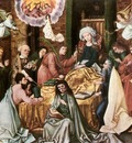 HOLBEIN Hans the Elder Death Of The Virgin