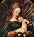 holbien the younger darmstadt madonna detail