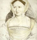 Holbien the Younger Portrait of Lady Mary Guildford