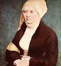Holbien the Younger Portrait of the Artist s Wife