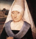 memling hans portrait of an old woman 1470