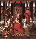 Memling Hans St John Altarpiece 1474 9 detail6 central panel