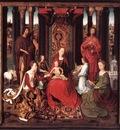 memling hans st john altarpiece 1474