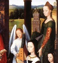 Memling Hans The Donne Triptych c1475 detail4 central panel