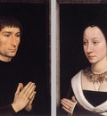 Memling Hans Tommaso Portinari and his Wife