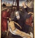 Memling Hans Triptych of Adriaan Reins 1480 detail2 central panel