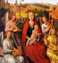 memling hans virgin and child with musician angels