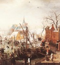AVERCAMP Hendrick Winter Scene At Yselmuiden