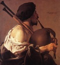 TERBRUGGHEN Hendrick Bagpipe Player