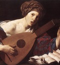 TERBRUGGHEN Hendrick Woman Playing The Lute