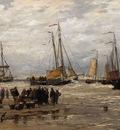 Mesdag Hendrik Willem Pinks in the Breakers
