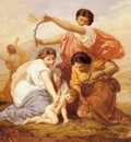 Picou Henri Pierre Clipping Cupid s Wings
