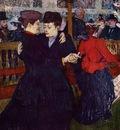 Toulouse Lautrec Henri de At the Moulin Rouge the Two Waltzers