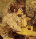 Toulouse Lautrec Henri de Hangover aka The Drinker