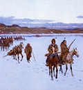 Farney Henry F Departure for the Buffalo Hunt