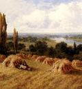 Parker Henry Deacon Hillier A Corn Field Chertsey On Thames Surrey