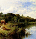 Parker Henry Deacon Hillier The Thames At Streatly Oxfordshire