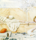 Ryland Henry Two Classical Figures Reclining