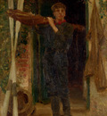 Tuke Henry Scott Portrait Of Georgie Fouracre