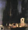 Siemiradzki Henryk Departure from an Island at Night