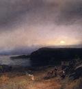 Herzog Herman Campfire in Moonlight