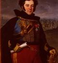 Vernet Emile Jean Horace Portrait Of Lieutenant Colonel, Comte De Thalouet