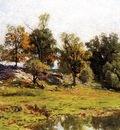 Jones Hugh Bolton Summer Landscape