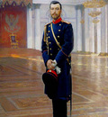 Repin Portrait of Nicholas II The Last Russian Emperor