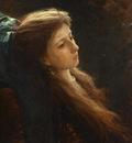Kramskoi Girl with a Tress