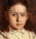 Kramskoi Portrait of Sonya Kramskaya the Artist s Daughter