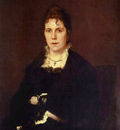 Kramskoi Portrait of Sophia Kramskaya the Artist s Wife