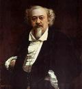 Kramskoi Portrait of the Actor Vasily Samoilov