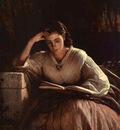 Kramskoi Sophia Kramskaya Reading