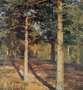 shishkin ivan the sun lit pines