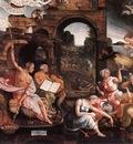 CORNELISZ VAN OOSTSANEN Jacob Saul And The Witch Of Endor