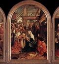 CORNELISZ VAN OOSTSANEN Jacob Triptych Of The Adoration Of The Magi